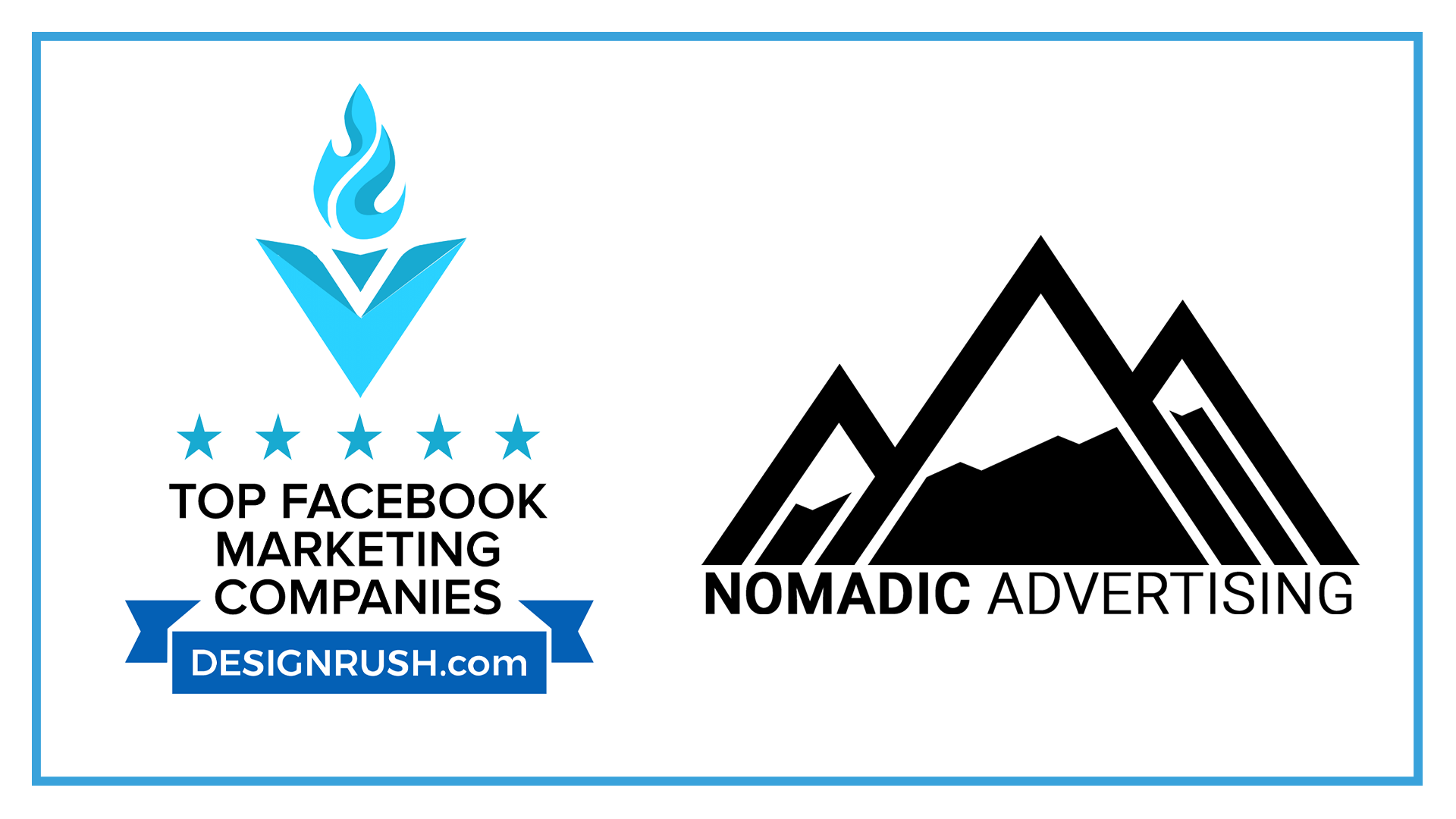 Nomadic Advertising ranked as a top 30 Facebook marketing agency